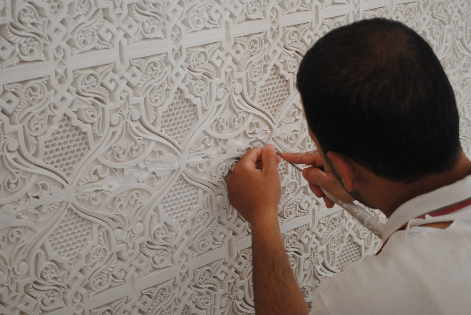 Exterior: The Finesse Of Moroccan Plasterwork