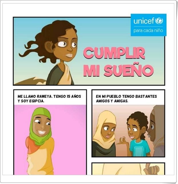 """Dia de los Derechos del Niño (20 de noviembre): Cómic """"Cumplir mi sueño"""""""