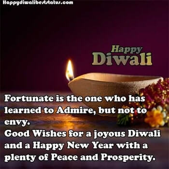 Happy Diwali msg in English
