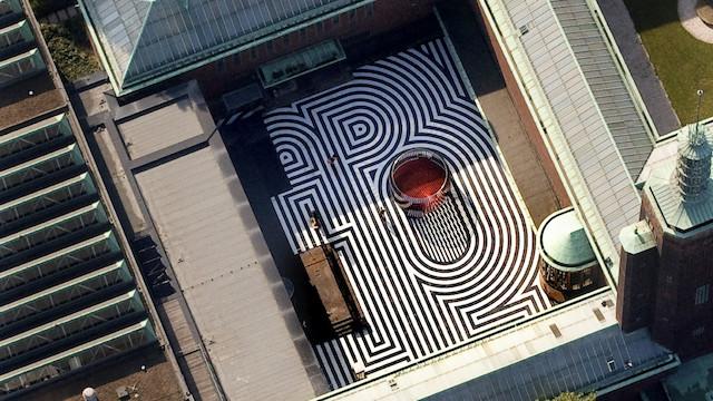 Museu Boijmans Van Beuningen em Roterdã - vista de cima