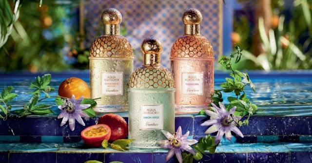 Mandrine Basilic, Limon Verde i Passiflora - oficjalna fotografia Guerlain Aqua Allegoria