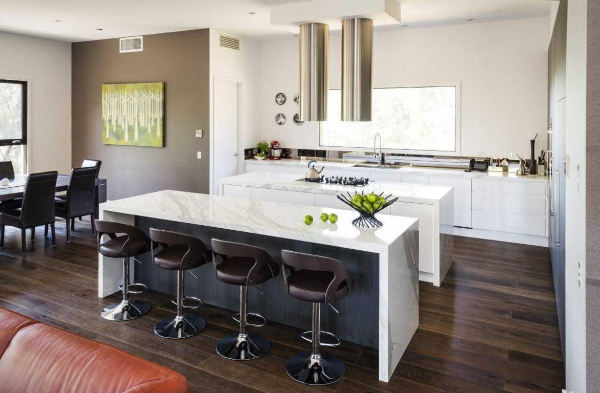 80 Desain Interior Dapur Dan Ruang Makan Minimalis Yang Menyatu