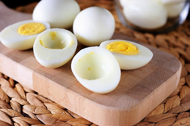 How to Make Deviled Eggs: Remove Yolks from Hard Boiled Eggs Image