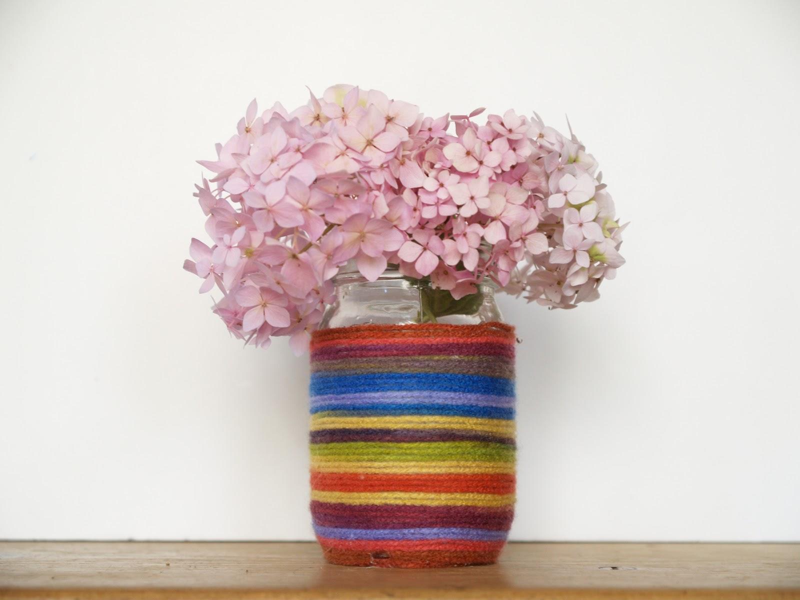 Make a rainbow mason jar flower vase the magic onions reviewsmspy