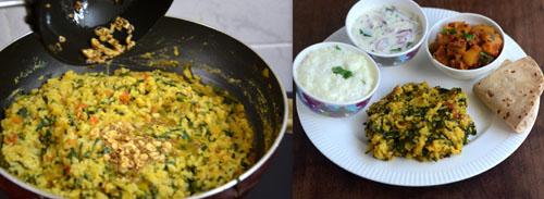 Easy Methi khichdi recipe