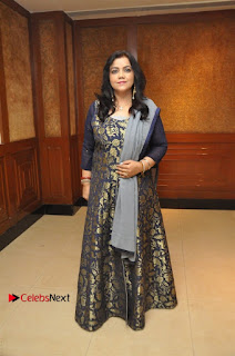 South Indian Celebrities Pos at Love For Handloom Collection Fashion Show  0032.jpg