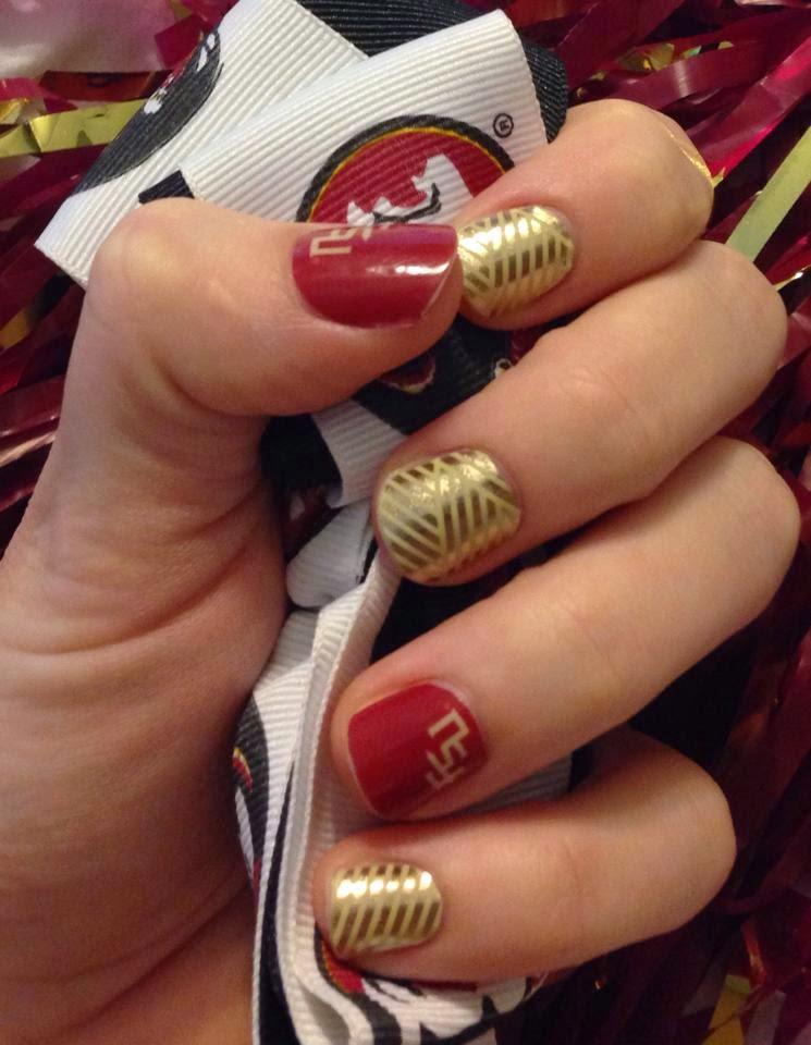 My Nail Polish Obsession My Birthday Nails: Melissa's Jamtastic Nails: Jams On My Nails