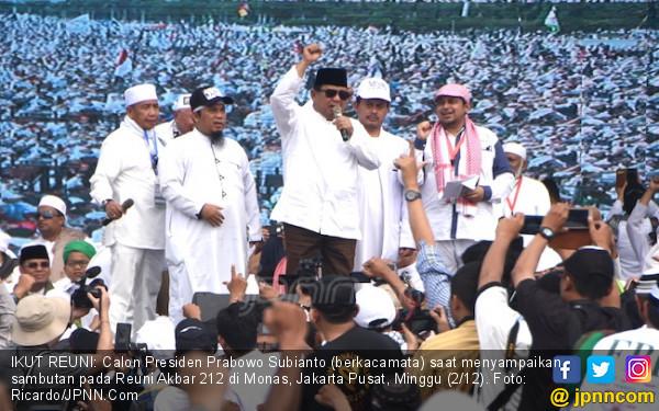 Prabowo Presiden dan Takbir Bersahutan di Haul Habib Kwitang