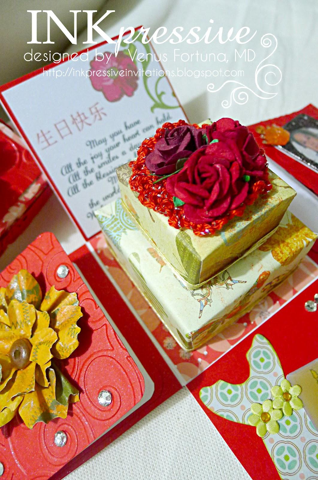 Happy Birthday Asian Themed Inkpressive Invitations