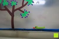 Ente: Kreidemarker – 10er Pack neonfarbene Markerstifte. Für Whiteboard, Kreidetafel, Fenster, Tafel, Bistros – 6mm Kugelspitze mit 8 Gramm Tinte