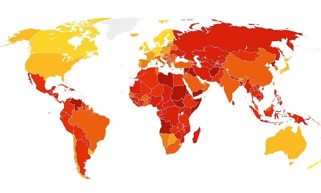 Korruptionsindex 2016: Makedonien auf Platz 90
