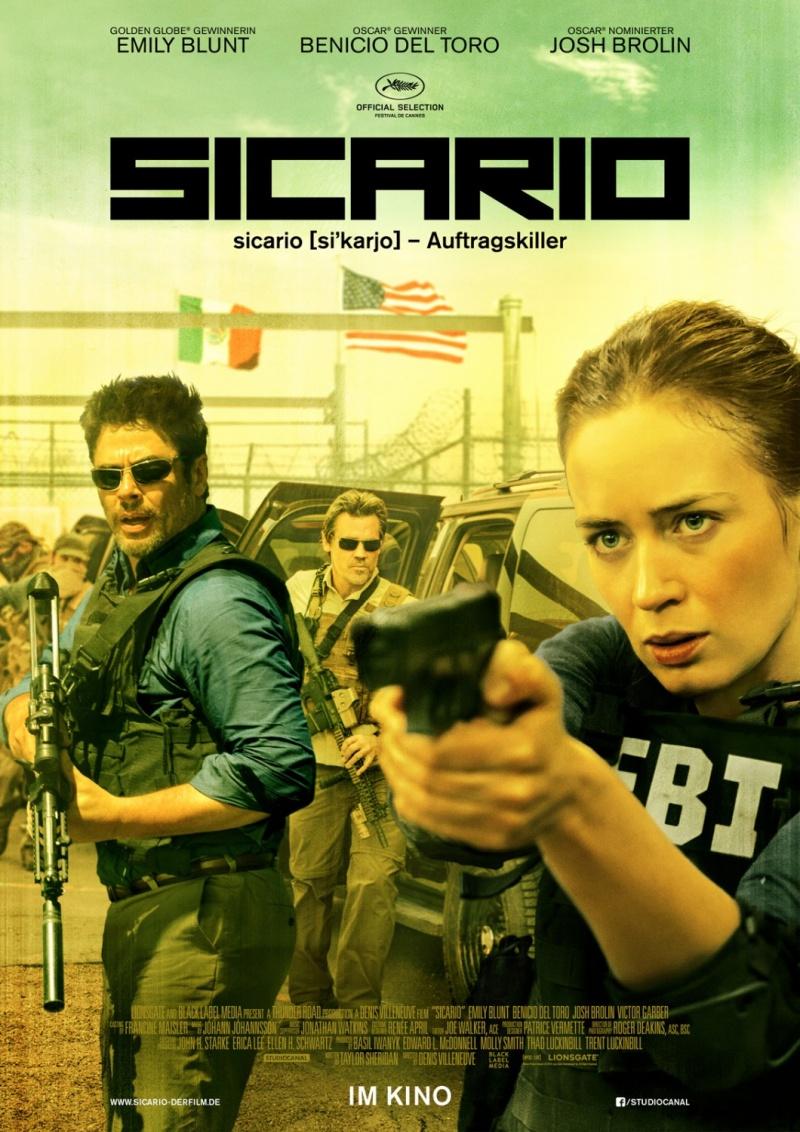 Sicario ทีมพิฆาตทะลุแดนเดือด [HD]