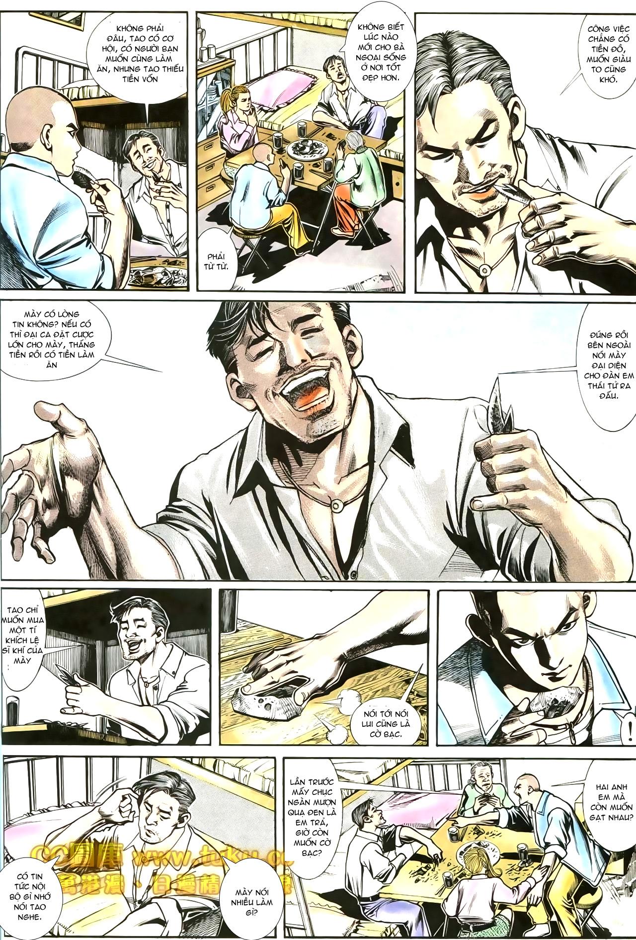 Người Trong Giang Hồ chapter 188: chiến nô trang 3