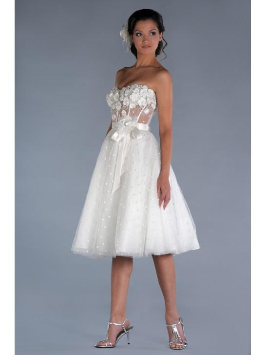 timeless design f7145 f0d3f Neue Stil Kurze Brautkleider Online - Beste Brautkleide