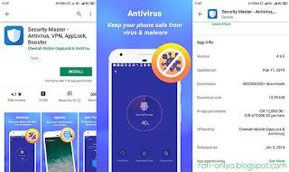 Security Master- Antivirus, VPN, AppLock, Booster