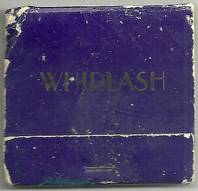 Whiplash matchbook