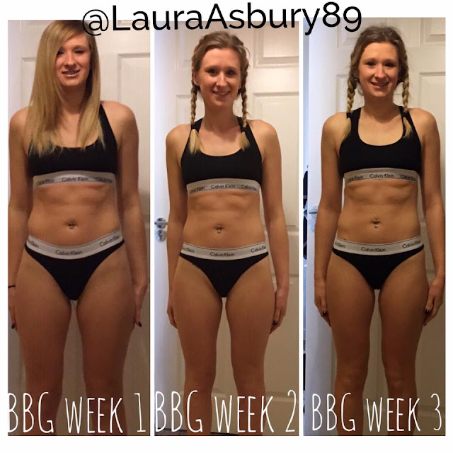 Kayla Itsines BBG Transformation