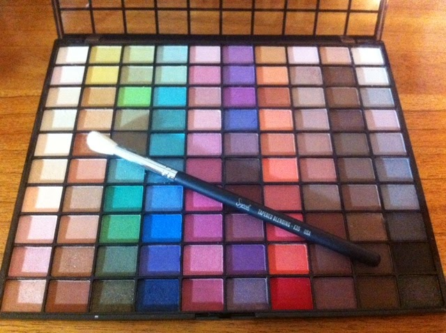 elf studio endless eyes pro 100 eyeshadow palette review