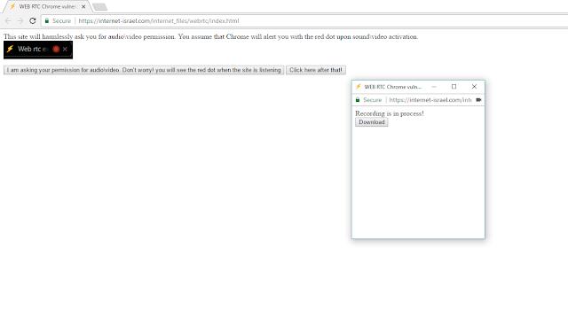 bug Chrome WebRTC ini dapat merekam suara dan video Anda melalui internet