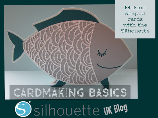 Cardmaking Basics : Making shaped cards with the Silhouette by Janet Packer for Silhouette UK #Silhouette #cardmaking #cards #designing