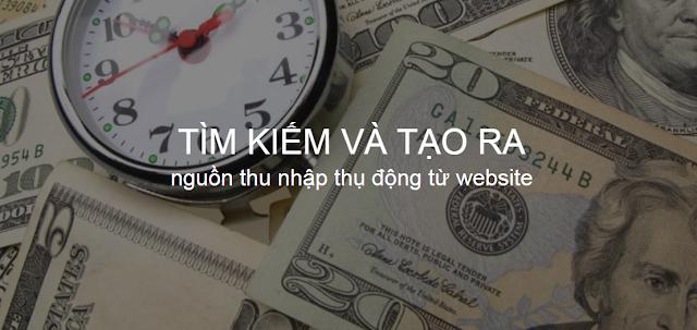 cách tạo ra nguồn thu nhập thụ động từ website