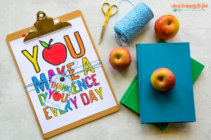 You Make a Difference Printable