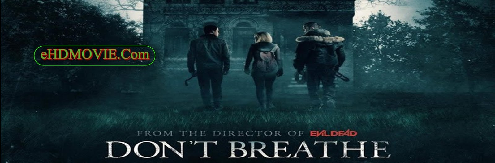 Don't Breathe 2016 Full Movie English 720p - HEVC - 480p ORG BRRip 250MB - 350MB - 600MB ESubs Free Download