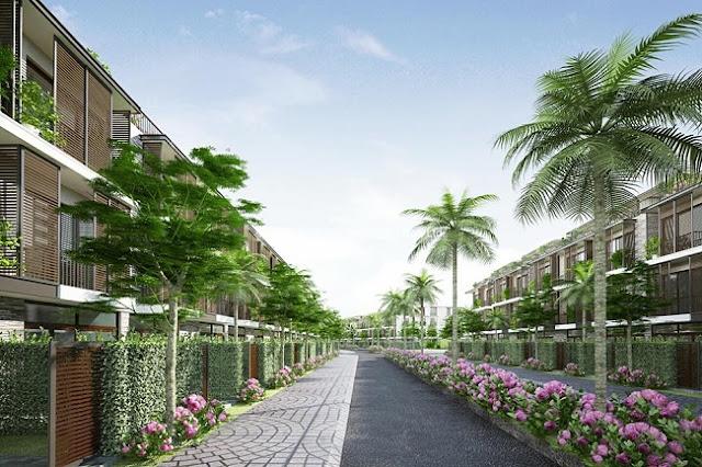 Biệt thự liền kề VimeFulland Thanh Trì - Dự án The Eden Rose