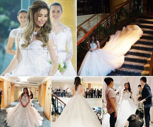 Soon To Be Mrs Heusaff Anne Curtis Flaunts Her Gown As Fans Wait For The Grandest Wedding