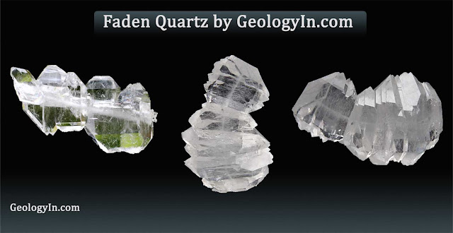 What Is Faden Quartz, and How Does It Form?
