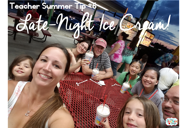 The end of the school year is here, and now it is time for teachers to enjoy a much needed summer vacation!  Here are some tips for all teachers to enjoy their summer before the beginning of the next school year!  (Number 6 is my favorite!)