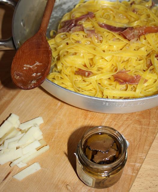 Taste 7 a Firenze: tagliatelle al tartufo