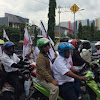 Teriakan 'Prabowo Presiden' Menggema Sepanjang Jalan Rawasari