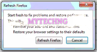 Easy Method on How to Reset your Firefox to its Default price in nigeria