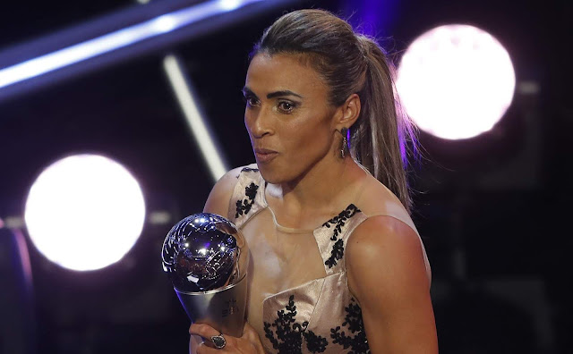 Marta, melhor jogadora do mundo (Foto: ASSOCIATED PRESS)