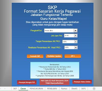 Aplikasi SKP Guru sesuai Format BKN