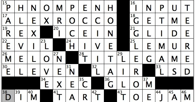 Rex Parker Does the NYT Crossword Puzzle: Modern brain