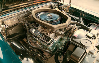 1967 Pontiac LeMans GTO Convertible Baggage Engine 1