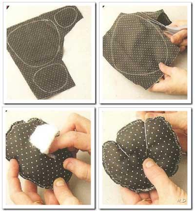 Como hacer mochila infantil de tela.