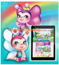 Logo Con Magiki Farfalle vinci 5 iPad Mini Wi-Fi 16 GB