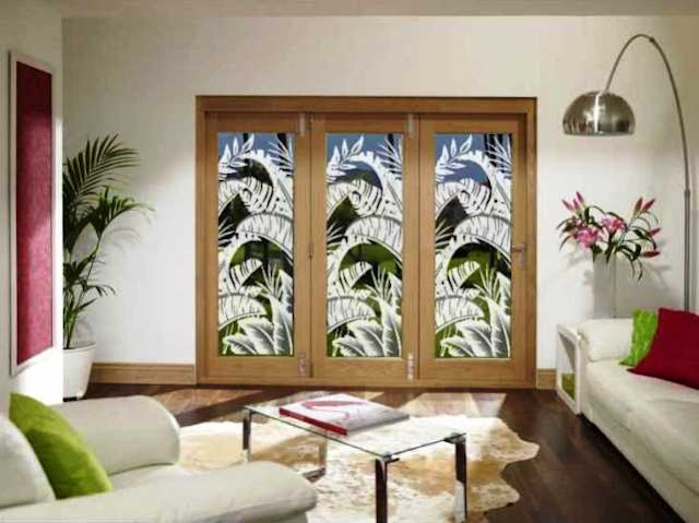 Privacy WINDOW FILM for Sliding Glass Doors