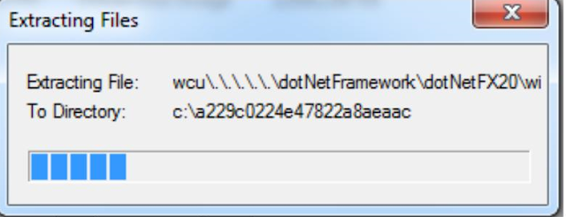 Xambro Platform winXP - Extract File dotnet framework