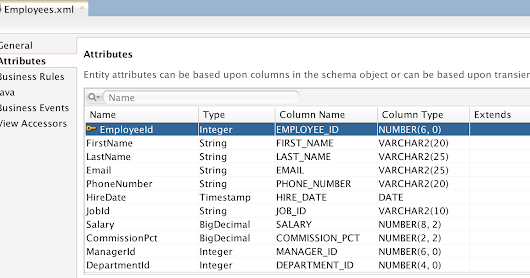 Workaround for ADF BC View Object Attribute Order Problem in JDeveloper 12c