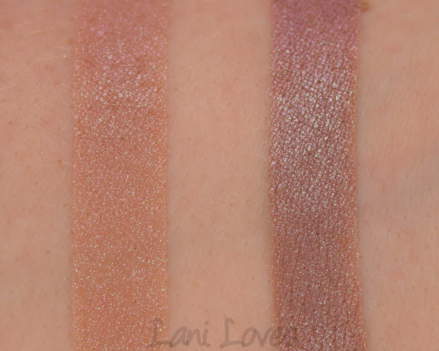 Kiss My Sass Eyeshadows - Minx Swatches & Review