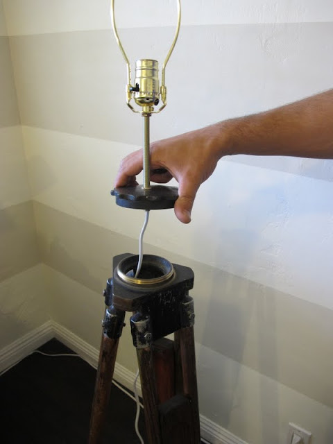How To Make A Diy Tripod Lamp Dream Book Design