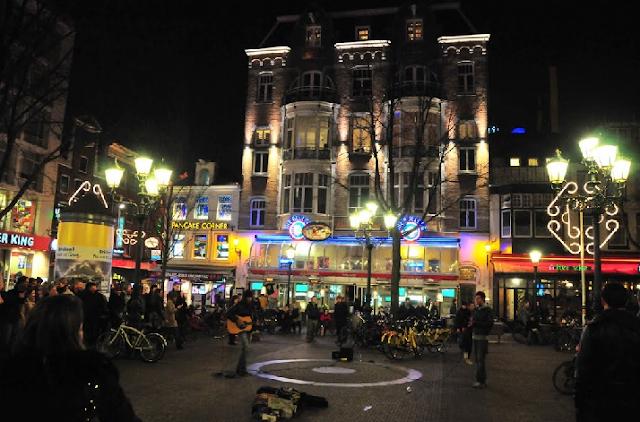 Leidseplein em Amsterdã