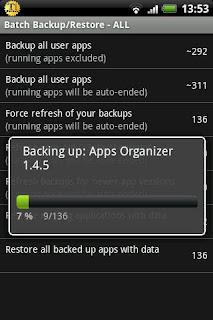 Titanium Backup Pro screenshot 1