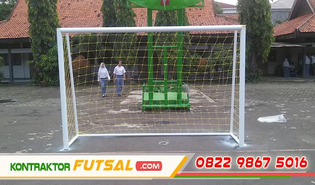 Gawang Futsal Bongkar Pasang Sistem Knock Down