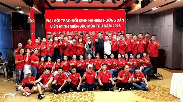 HDV Trung Quốc mặc áo đỏ