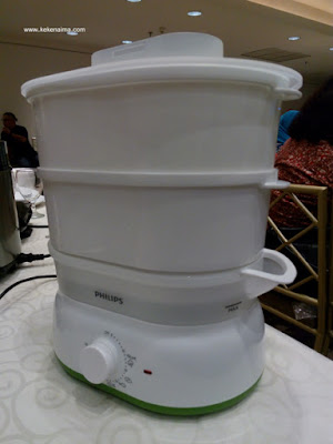 inovasi dapur philips, philips food steamer, perlengkapan dapur philips